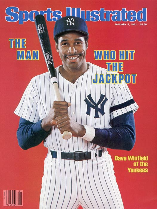 Dave Winfield signs a ten-year, $16 million contract with the Yankees, making him the highest-paid player in the history of sports.