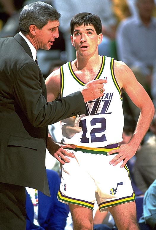 "Stockton played his last 15 seasons under coach Jerry Sloan, who is also part of the 2009 Hall of Fame class. As accomplished as he was, Stockton looked over at Sloan on most half-court possessions. ""Why wouldn't I?"" he told SI near the end of his career. ""He's the coach. He runs the team."""