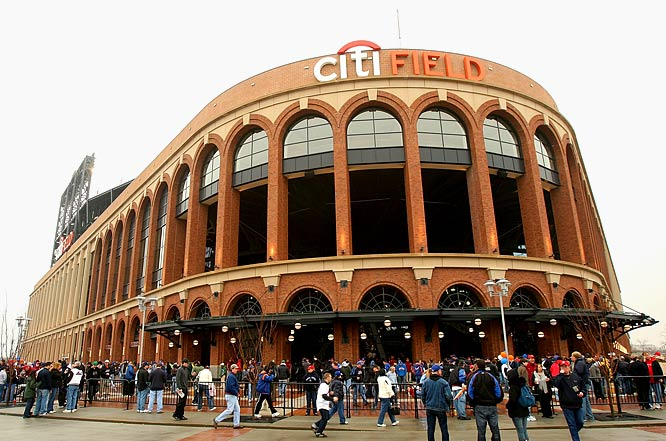 Shea Stadium was a circular multisport stadium that opened as part of the 1964 World's Fair. It proved to be ideal for neither baseball nor the NFL.<br><br>The red brick exterior of Citi Field frames its arched entries, leading into a massive rotunda that evokes Ebbets Field and simpler times.