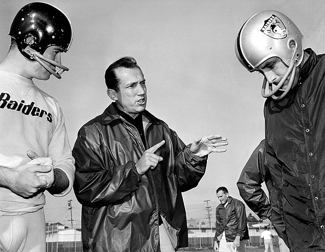 The Raiders struggled from 1960 to 1962. Then coach Al Davis arrived on the scene and inspired one of the great turnarounds in sports history -- from 1-13 in 1962 to 10-4 under Davis in 1963. The organization never looked back: the Raiders posted winning records every year from 1965 to 1985 and appeared in a remarkable 14 of 36 AFL/AFC championship games from 1967 to 2002. The 13-1 Raiders of 1967, who lost to the Packers in Super Bowl II, were the single most dominant team of the AFL. Oakland has also sent more members to the Hall of Fame than any other AFL club.