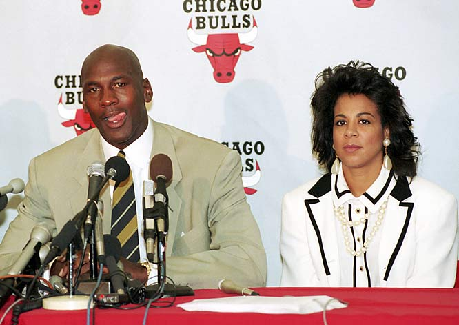 "Saying ""the desire just isn't there,"" Jordan announced the first of his three NBA retirements on Oct. 6, 1993. The stunning move came amid persistent questions about his high-stakes gambling and occurred shortly after the shooting death of his father."