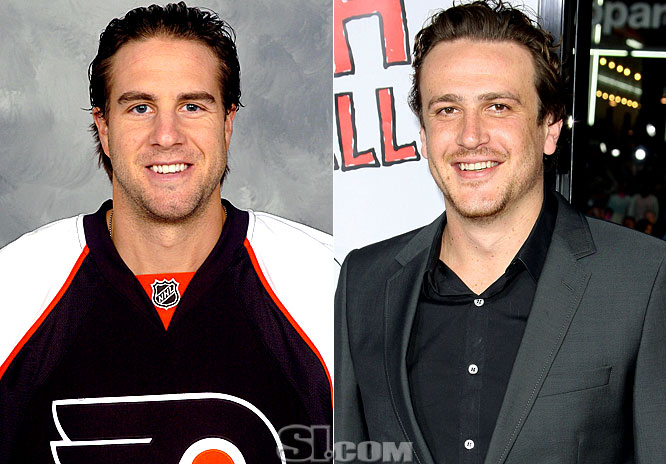 Since most people are not familiar with the faces of NHL players, here are some notable players to watch for in the playoffs, alongside some more familiar faces from the entertainment industry they resemble......more or less.
