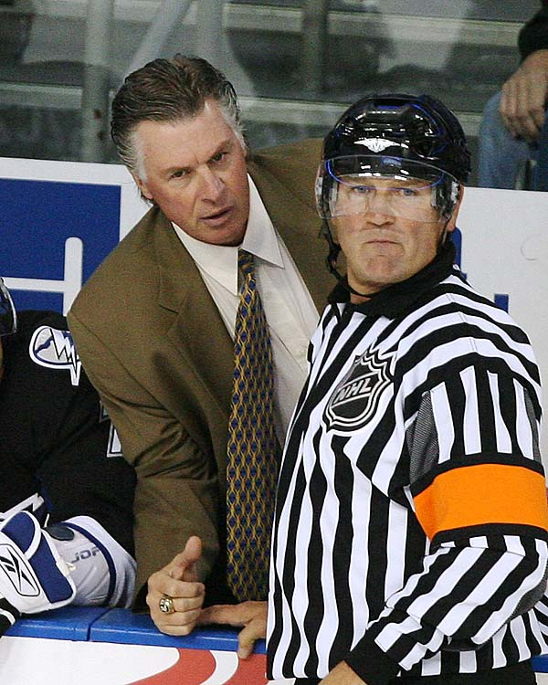 After being out of coaching for 13 years, Barry Melrose was lured out of the broadcast booth and back into coaching by the Tampa Bay Lightning. He was fired after 16 games.
