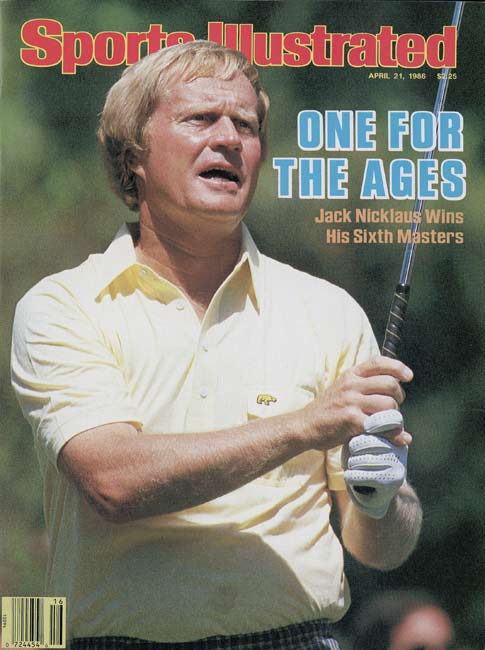 Jack Nicklaus, 46, wins his sixth and final Masters tournament.