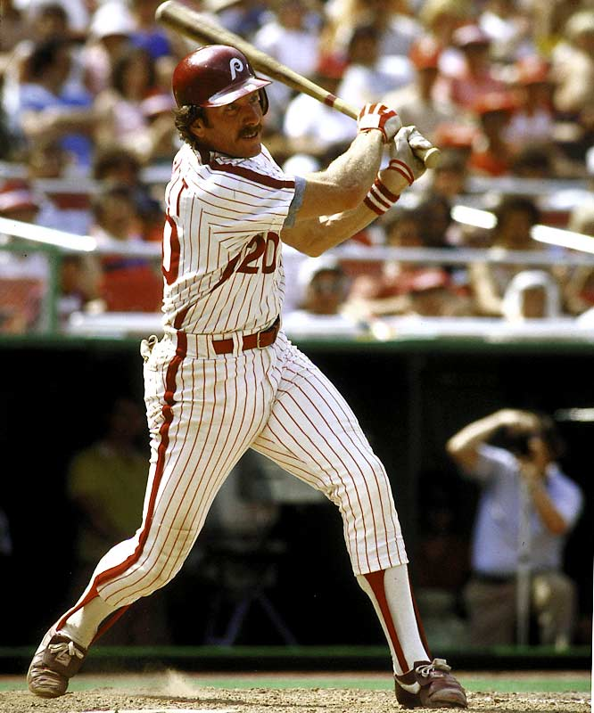 At Wrigley Field, Mike Schmidt hits four home runs in one game, including the game winner, as the Phillies comeback from an 11-run deficit to beat the Cubs in 10 innings, 18-16.