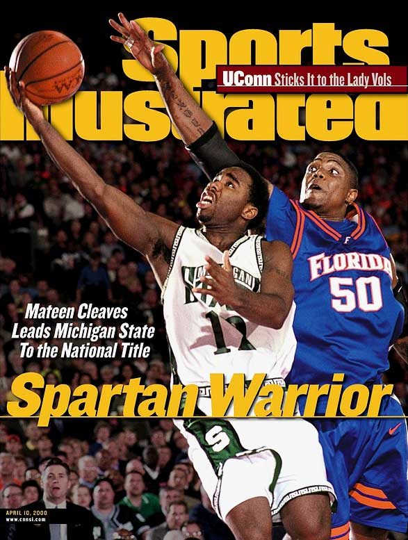 At then 62nd NCAA Men's Basketball Championship in Indianapolis, Michigan State beats Florida to win the national title.