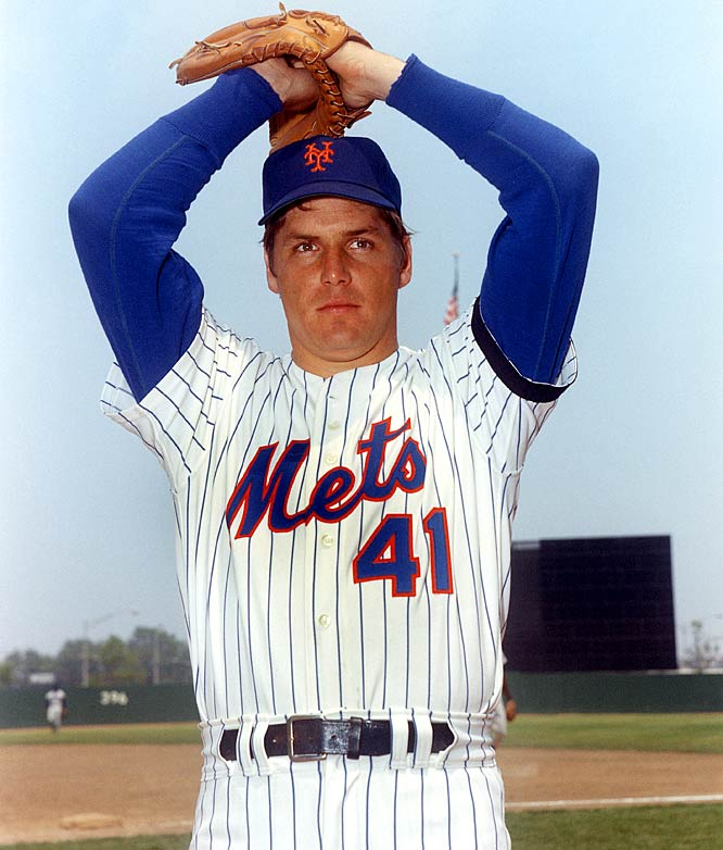 After his name is picked from a hat in a special draft, Tom Seaver signs with the Mets for a reported $50,000 bonus.