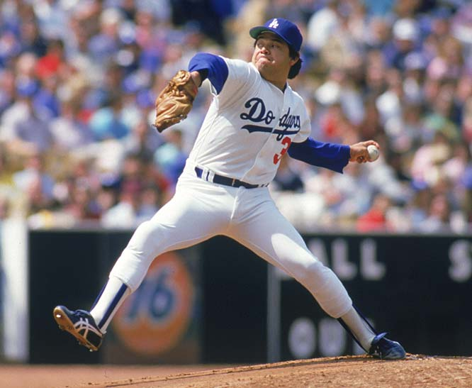 At Dodger Stadium, Los Angeles rookie Fernando Valenzuela makes his first major league start, hurling a five-hitter in a 2-0 victory over the Astros.