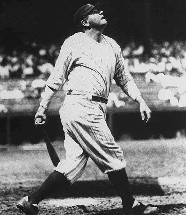 Legendary slugger Babe Ruth made his pitching debut with the Baltimore Orioles.