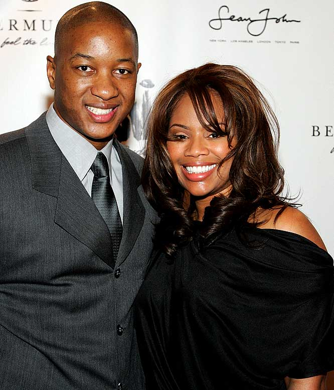 The former NBA guard turned NBA TV commentator appears with his wife, Deshawn, on The Real Housewives of Atlanta.