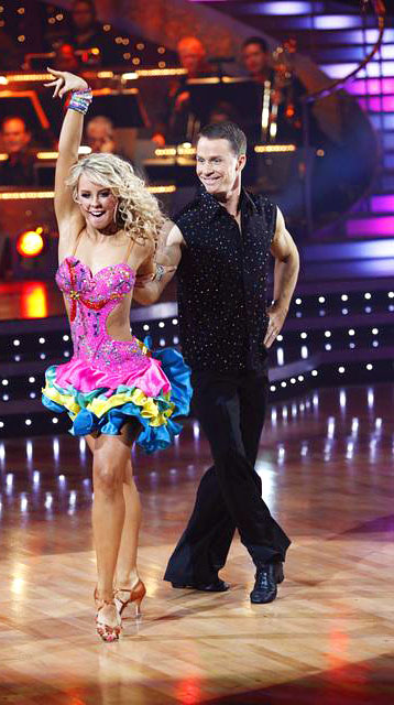 Murray went from dancing with the bulls to dancing with Chelsie Hightower on the eighth season of Dancing with the Stars.