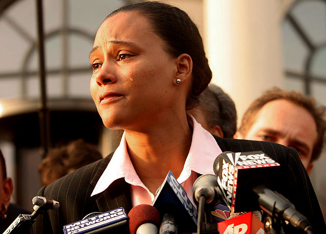 The former Olympic sprinter was sentenced to six months in prison in 2007 after pleading guilty to charges of lying to a federal agent in 2003 about her use of steroids.