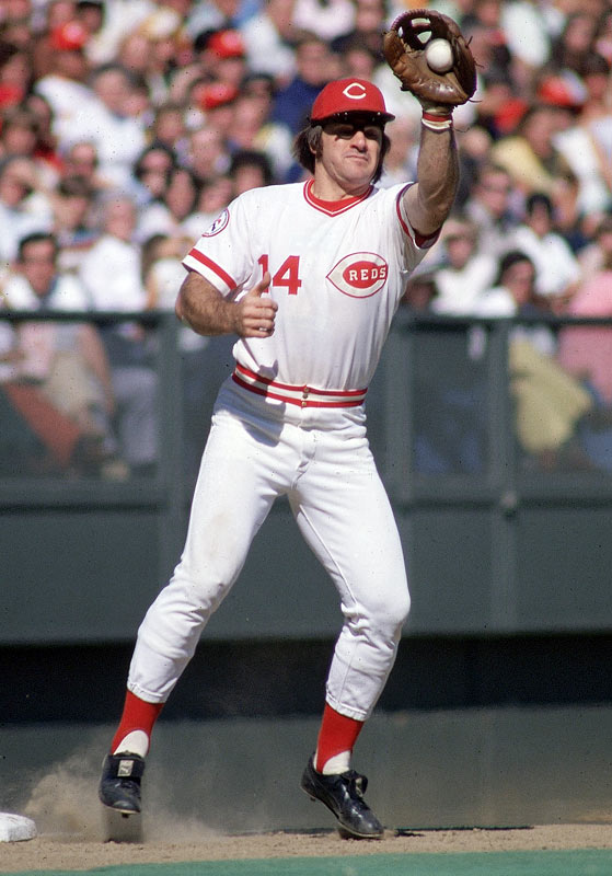 From his hard-nose play to his habit of running full-speed around the bases after a home run, few played the game with as much determination and heart as Rose. Unfortunately, the former Reds great is still fighting a lifetime ban from baseball for betting on games he was managing.