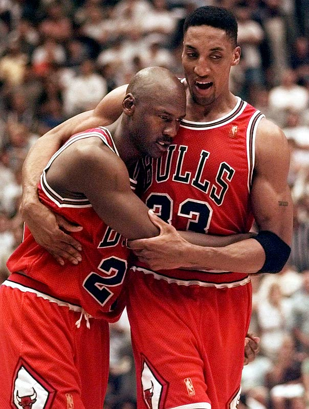 Before Michael Jordan would complete his Bulls playing career with the game-winning shot at Utah in the 1998 Finals, these teams played a taut series in '97. Jordan opened the championship round with a game-winner and Steve Kerr closed it with a game-winner off a feed from Jordan. In between, John Stockton sparked the Jazz to a comeback victory in Game 4 and a flu-racked Jordan scored 38 points and rallied the Bulls from a 16-point deficit in a 90-88 victory in Game 5.
