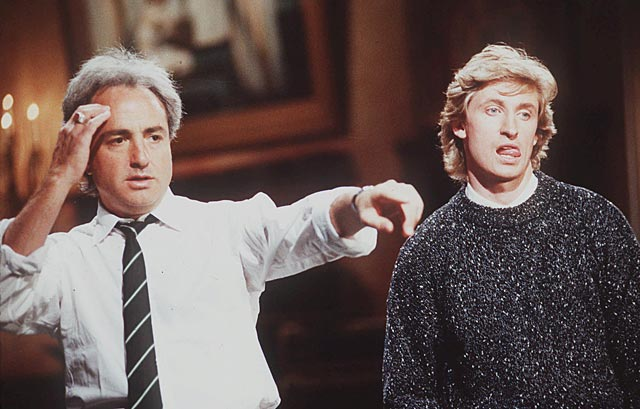 "Wayne Gretzky hosts an episode of  ""Saturday Night Live."""