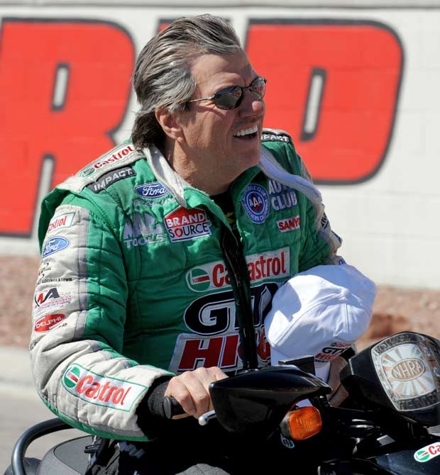 John Force (1949, pictured) <br>Eugene Daniel (1961) <br>Eddie Perez (1968)<br>Kevin Todd (1968) <br>Dawn Staley (1970) <br>Joe Borowski (1971) <br>Matthew Barnaby (1973) <br>John Madden (1973) <br>Miguel Cairo (1974)<br>Ben Grieve (1976) <br>Andrew Raycroft (1980)<br>George Hill (1986) <br>Rory McIlroy (1989)<br>