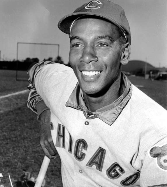 After Cubs skipper Whitey Lockman is ejected in the 11th inning of a Jack Murphy Stadium contest, Ernie Banks takes his place for the last few innings of the Cubs 3-2, 12-inning victory over the Padres. He technically becomes the first black manager of a major league team.