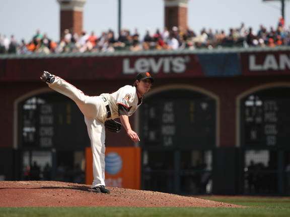 Lincecum is only the ninth picther in Giants history to record 200 or more strikeouts in a season since 1900.