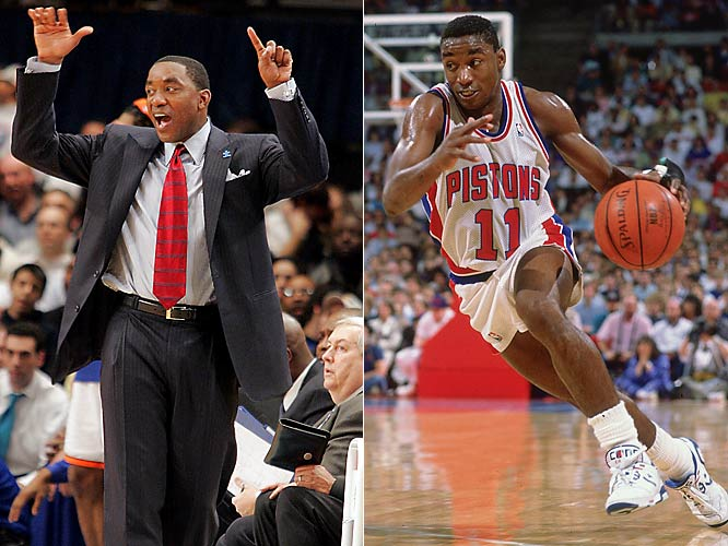 After leading the Pistons to a pair of NBA titles, the 12-time All-Star enjoyed some modest success in building the Raptors before taking a sledgehammer to his executive career. In 1999, Thomas bought the Continental Basketball Association and led it to eventual bankruptcy before parachuting onto the Pacers bench as Indiana's new head coach. After guiding the Pacers to three playoff appearances, Thomas made his way to New York, where he oversaw a team that went 151-259 in his five years on the job.