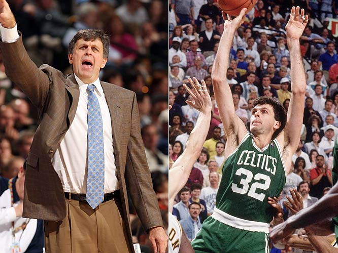 A Hall of Famer and three-time NBA titlist with the Boston Celtics, McHale earned the ire of NBA fans across the league when he seemingly gift-wrapped the 2008 title for his former club by trading former MVP Kevin Garnett to Boston in the summer of 2007. That the Timberwolves were willing to peddle Garnett was also testament to McHale's mistakes in the Minnesota front office, from where he and the team had been stripped of three first-round draft picks after entering into an unsanctioned handshake agreement to retain onetime free agent Joe Smith in 2000.
