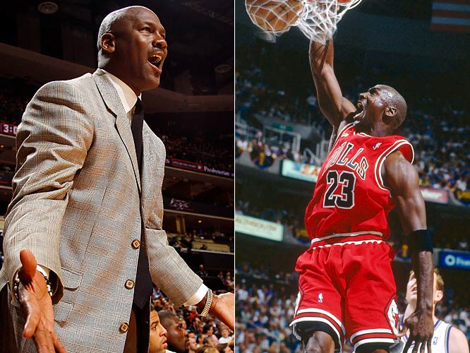 Arguably the game's greatest player, Jordan was anything but an MVP as a front office leader. In a little more than a year as the Wizards' president of basketball operations, Jordan took a team that had gone 29-53 in the season of his arrival and rebuilt it into a 19-63 failure. After a short-lived comeback in uniform for two seasons, Jordan eventually made his way to the Bobcats' front office. In his three years in Charlotte, the Bobcats have yet to reach the postseason and have lost a combined 146 games.