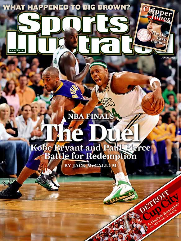 Boosted by a midseason trade for Pau Gasol, the Lakers lost only three games in the first three rounds of the playoffs. But they couldn't get past a highly motivated Celtics team that swarmed Kobe Bryant on one end and spread the wealth among three future Hall of Famers (Paul Pierce, Kevin Garnett and Ray Allen) on the other.