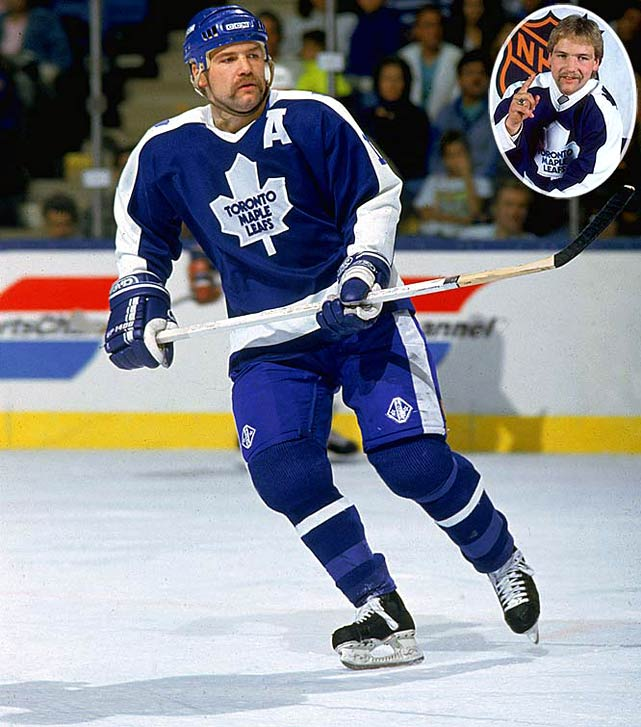 One of the most revered Leafs, the aggressive, roughneck Clark scored 34 goals (with 227 PIM) as a rookie and was edged for the Calder by Flames defenseman Gary Suter. Clark later attained the Leafs' captaincy, but was plagued by injuries and traded to Quebec for Mats Sundin in 1994. Clark retired in 2000, having scored 330 goals for six teams.<br><br>No. 2: Craig Simpson, LW, Penguins<br><br>Notables: <br>Joe Nieuwendyk, C, Flames (27)<br> Mike Richter, G, Rangers (28)