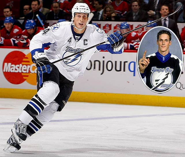 Tampa Bay's classy captain led the team to the Stanley Cup in 2003-04 and now holds the franchise career records for goals (273) and points (602). Lecavalier won the Rocket Richard Trophy by scoring 52 goals in 2006-07.<br><br>No. 2: David Legwand, C, Predators<br><br>Notables: <br>Alex Tanguay, LW, Avalanche (12)<br> Simon Gagne, LW, Flyers (22)<br> Scott Gomez, C, Devils (27)<br> Brad Richards, C, Lightning (64)