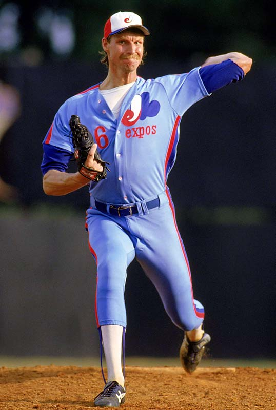 Johnson planned to return for his senior season, but the Expos surprised everyone when they took him with their second pick (34th overall). He was sent to the minor leagues, where he worked with Felipe Alou and Joe Kerrigan. Johnson made his major league debut in Sept. 1988 and made four starts, winning three.