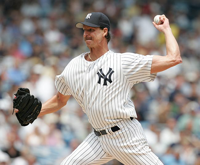 The Big Unit was inconsistent in his first year in pinstripes, but finished the season with a 17--8 record and a 3.79 ERA. He won 17 games again in 2006, but his ERA was a mediocre 5.00 and his playoff performance (five earned runs in 5 2/3 innings) left him on the outs in New York.