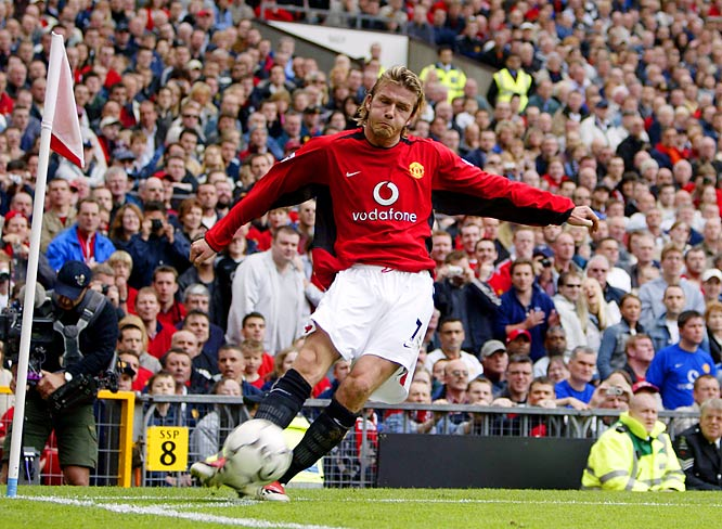 In April 2002, Beckham fractured a metatarsal in a Champions League quarterfinal game against Deportivo La  Coruña. The famed injury made the term 'metatarsal' a colloquial, household name.