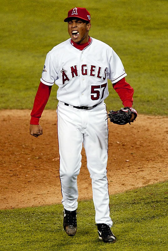 Though K-Rod was not old enough to drink (20 years, 9 months), he was old enough to silence the late-inning bats of the Yankees, Twins and Giants in leading the Angels to a World Series victory.