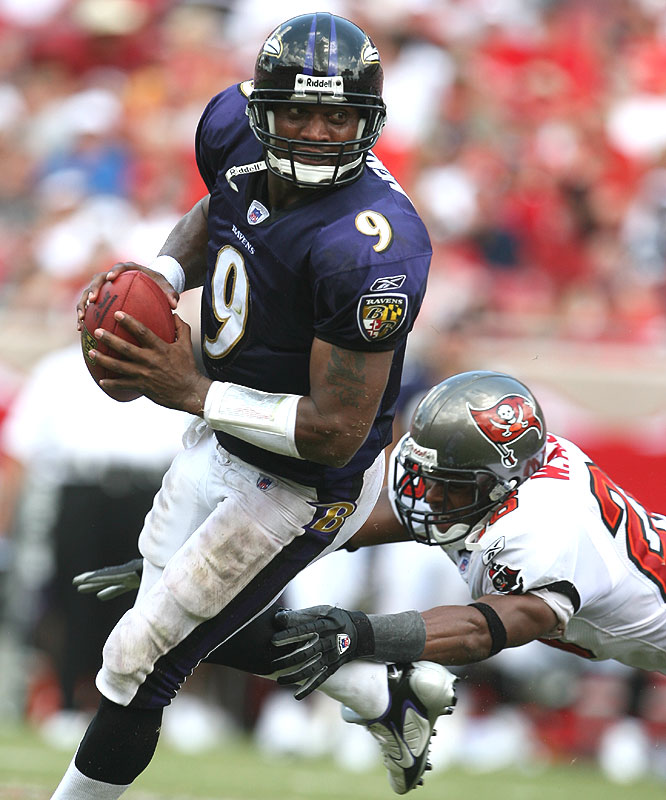 Steve McNair's 13-year NFL career ended in 2007 after a two-season stint with the Baltimore Ravens.