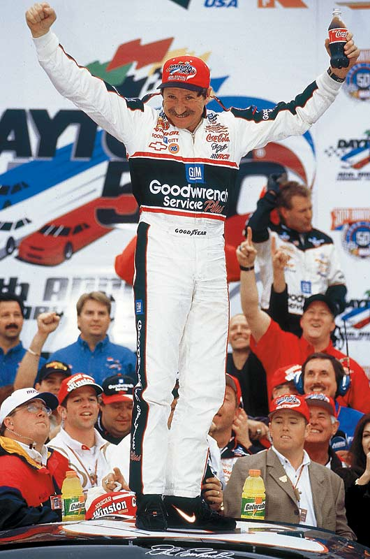 Nothing could cause the heart rate of a driver to skyrocket like the sight of the Intimidator and his black No. 3 Chevy bobbing and weaving in the rear-view mirror. Earnhardt was never afraid to push a driver out of his way to get to the front, consequences be damned.