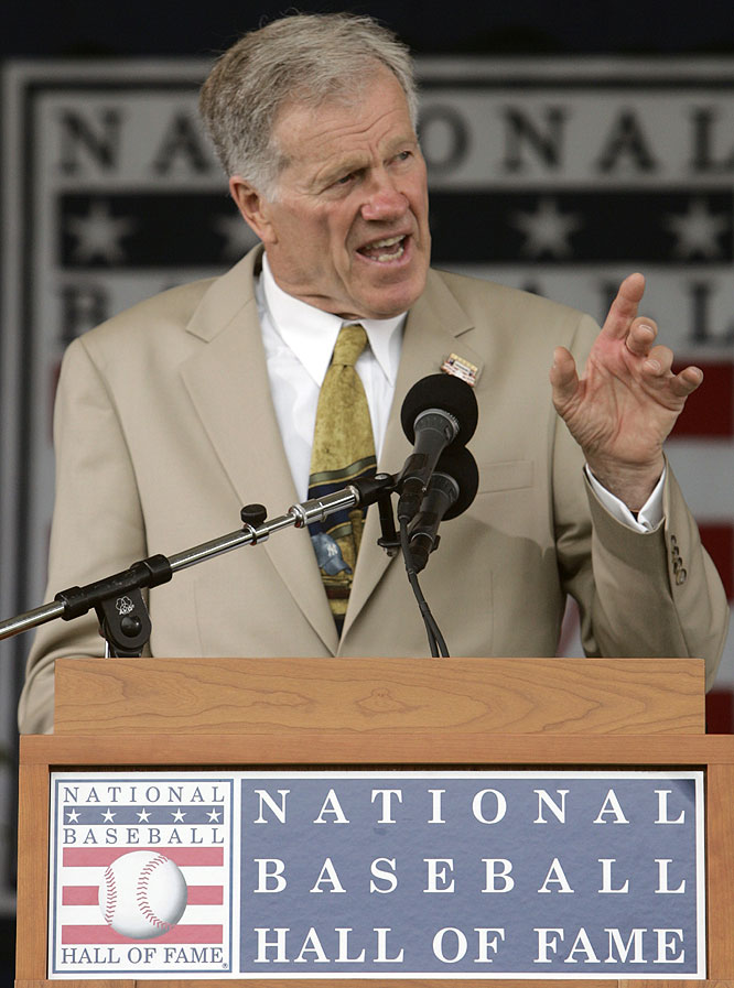 Former New York Yankees star and longtimebroadcaster Tony Kubek received the Ford C. Frick Award, presented annually for major contributions to baseball broadcasting.
