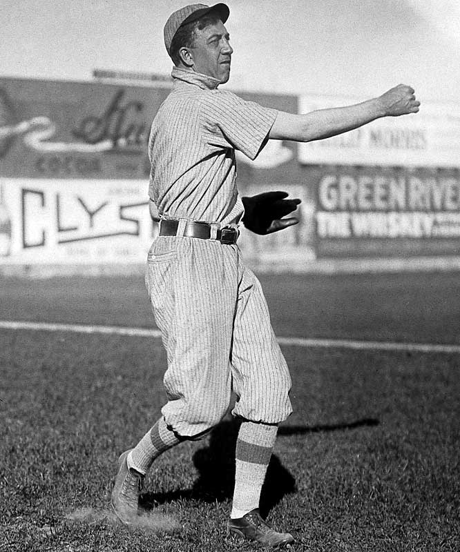 "Joss improved to 24-11 after outdueling Ed Walsh (39-15). The Cleveland Indians were called the Naps during this time frame because their manager was none other than Hall of Famer Larry ""Nap"" Lajoie who managed while playing second base."