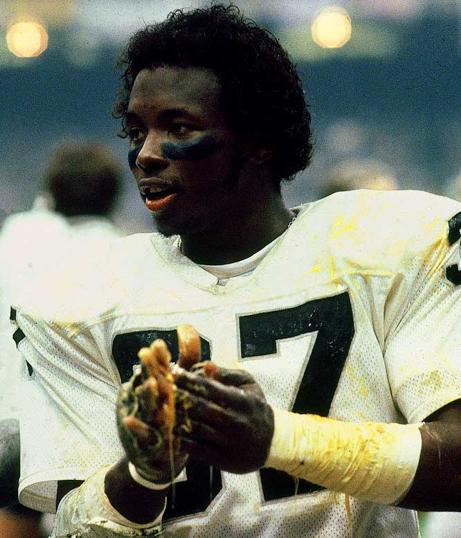 The gooey substance that Lester Hayes lathered on his arms and hands helped the cornerback become a perennial Pro Bowl selection and a Raider legend.