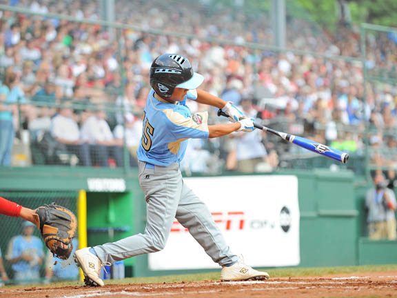 Tanner Tokunaga hit two homers to help Waipahu, Hawaii beat Matamoros, Mexico, in 12-3 victory. It was the fourth straight Little League title for the United States.