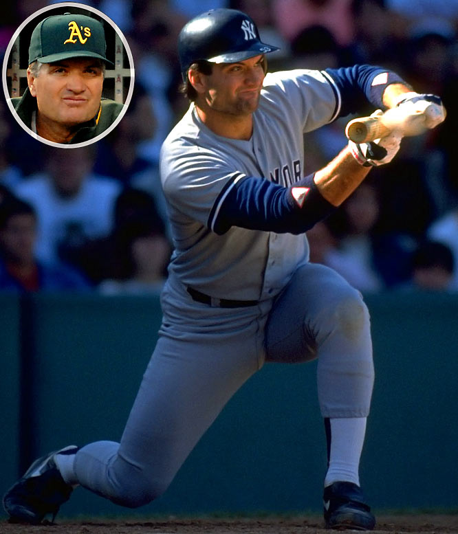 Bob Geren may not have been the most talented player in baseball, but he certainly was among the most persistent. He spent 10 seasons in the minor leagues before finally getting his call up to the bigs in 1988 as a backup catcher for the Yankees. He spent four seasons with the Yankees, the best being 1990, when he appeared in 100 games and swatted eight home runs and 31 RBIs. After spending three seasons years as the A's bullpen coach and one as their bench coach, Geren was promoted to full-time manager in 2007 and has been at the helm ever since.<br><br>Send comments to siwriters@simail.com