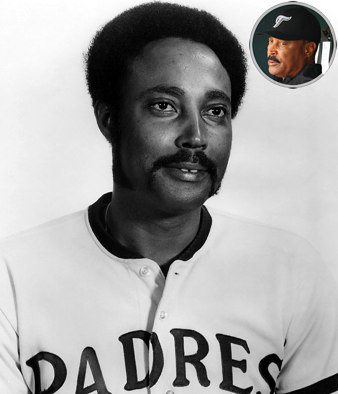 Though best known for his two tenures as Toronto manager, Cito Gaston played 11 seasons in the major leagues, from 1969 to '78. His best season came in 1970, when he belted 29 home runs, 93 RBIs to go along with his .318 batting average for the Padres. He was voted to his only All-Star team that season. After retiring, Gaston took over as Toronto's hitting coach in 1982 and worked his way up to manager by 1989. The team quickly took to their laid-back manager and won the World Series in 1992 and 1993. By 1997, the Blue Jays faded and Gaston was fired in the last week of the season. After a decade of failure, however, the Blue Jays went back to Gaston in 2008 and he led them to a 51-37 record in 88 games. He's currently in his first full season of his second tenure with the Jays.