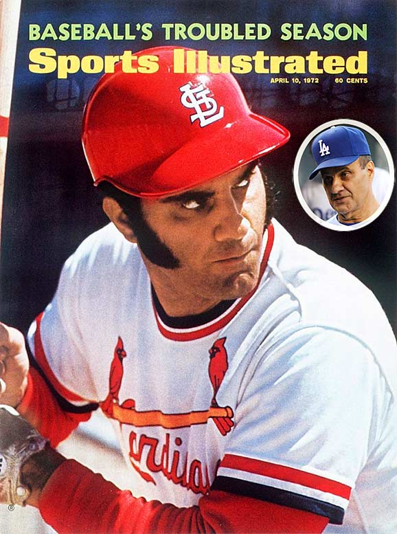 Though many younger baseball fans associate Joe Torre strictly with his success as Yankees manager, the current Dodgers skipper spent 18 seasons as a player for four teams. He was a nine-time all star, a Gold Glove winner and the 1971 NL MVP. Before taking over as the Yankees skipper in 1996, Torre managed the Mets (1977-81), the Braves (1982-84) and the Cardinals (1990-95). In 12 seasons in the Bronx, Torre compiled a 1,173-767 record with four World Series titles.