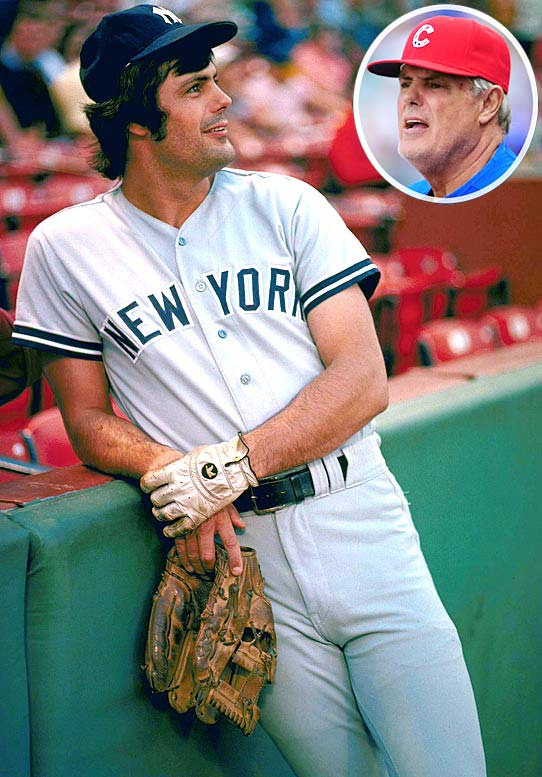 Piniella is the definition of a baseball lifer. Prior to his 22 seasons as a manager, Sweet Lou spent 18 as a leftfielder for four franchises -- the Orioles (1964), Indians (1968), Royals (1969-73) and Yankees (1974-84), where he won five AL East titles, four AL pennants and two World Series titles. After taking a year off in 1985, Piniella returned to the Bronx as manager in 1986 and has been a big league skipper since. He has won three Manager of the Year Awards (1995, 2001, 2008) and led the Reds to the 1990 World Series title. He is currently managing the Cubs.