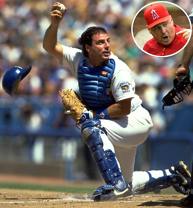 Like most current managers, Mike Scioscia spent his apprenticeship as a major league player. In 12 seasons with the Dodgers, he was a two-time All-Star, a three-time World Series winner and widely regarded as one of the best minds in the game. He was hired to lead Anaheim in 2000 and led the franchise to its first World Series victory in 2002. He is currently in his 10th season in charge of the Angels and has led the team to four AL West titles and has been honored with one Manager of the Year Award (2002).