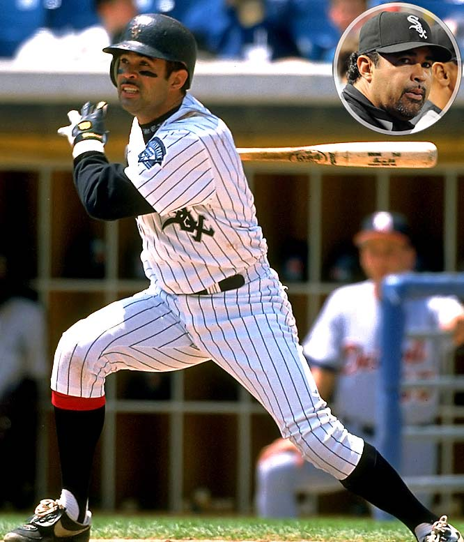 Ozzie Guillen, one of baseball's most controversial managers, was as feisty on the field as in the clubhouse. In 16 seasons (13 with the White Sox), he  won Rookie of the Year, was named to three All-Star teams and was one of the league's top fielding shortstops. After Guillen served as third base coach for the 2003 World Series champion Marlins, the White Sox lured him back to the city in which he spent much of his pro career. The team's faith was quickly rewarded as Guillen's team won the 2005 World Series.