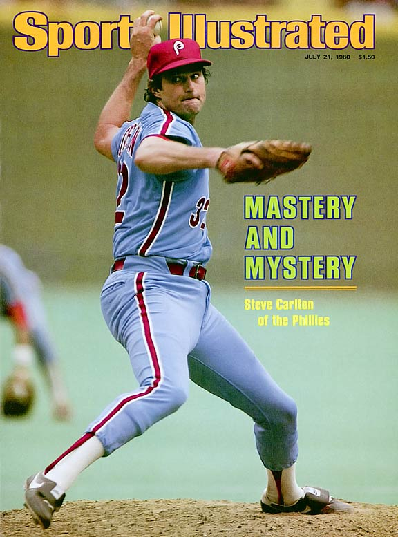 A staple of the early 1980s, the powder-blues were worn by the Phillies (including Hall of Famer Steve Carlton) during their memorable 1980 season.
