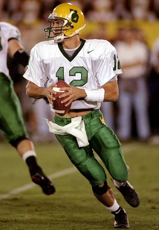 Before they started wearing Arena Football League uniforms, the Ducks dressed like a high school football team.