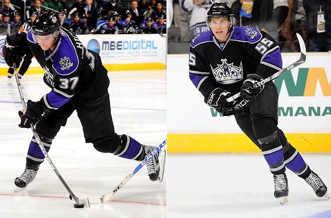 The offensive-minded Hickey seems like the ideal counterbalance to stay-at-home Matt Greene on the third blueline pairing. The fourth overall pick of 2007 has impressed with his poise and passing skills. Schenn's play may have earned the 2009 first-rounder a nine-game introduction to the league, but with Brandon hosting the Memorial Cup next spring, he'll be returned to junior sooner rather than later.