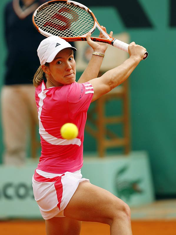 In 2007, Henin joined Monica Seles as the only players in the Open era to win three consecutive French Open titles. (Henin has not dropped a set in any of her four finals appearances at Roland Garros.) She rounded out the year with her second U.S. Open title, beating both Williams sisters en route to her seventh major victory.
