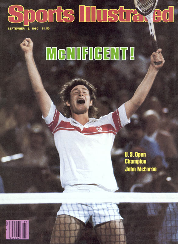 John McEnroe and Bjorn Borg stage one of the greatest U.S. Open finals as 21-year-old McEnroe fends off Borg to win his second straight title.
