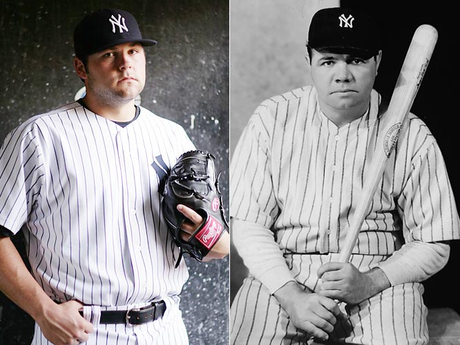 Nebraska native Joba Chamberlain was drafted by the Yankees in 2006 and made his big league debut in 2007. With his first pennant in the bag, the Yankees set-up pitcher hopes to reel in his first World Series title.<br><br>Ruth, a Yankee from 1920-1934, racked up seven pennants and four World Series championships during his tenure.